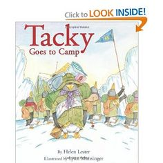 Tacky the penguin series Camping Books, Camping Theme, Camping Stuff, Camping Ideas, Tacky The Penguin, Flannel Friday, Childrens Books, Childrens Yoga, Kid Books