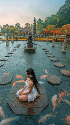 All You Need to Know About Tirta Gangga Water Palace in Bali Vacation Places, Dream Vacations, Vacation Spots, Beautiful Places To Travel, Cool Places To Visit, Places To Go, Romantic Travel, Bali Travel, Future Travel