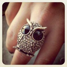 Owl Ring -- LOVE LOVE LOVE!!!