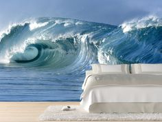Wave Wall Mural | Eazywallz