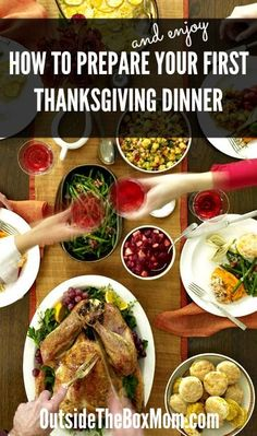 How to Prepare Your First Thanksgiving Dinner