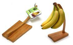 Foldable Bamboo Banana Holders