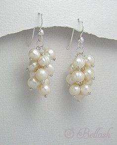2538237 Aretes Plata 925 c/Perlas de Agua Dulce, (En oferta)                                                                                                                                                                                 Más