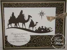 Come to Bethlehem Stampin' Up stamp set