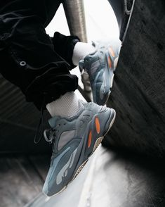 """23d05adbc634a6 Take an on feet look at the new adidas Yeezy Boost 700"""" 📷  randygalang"""