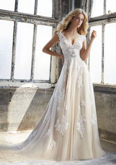 Kennedy Wedding Dress by Morilee STYLE NUMBER: 8206
