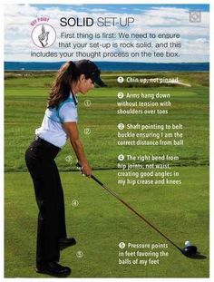 Shoot A Better Round Of Golf With Some Amazing Advice. Golf is a great sport for those who wish to relax and get moderate exercise. Golf is simple to learn yourself once you know the basics, so use these tips t Tips And Tricks, Golf Outfit, Golf Attire, Short Game Golf, Golf Chipping Tips, Golf Videos, Golf Tips For Beginners, Golf Exercises, Workouts