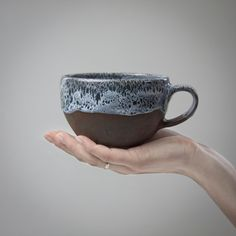 cup and saucer by CeramicSoul on Etsy, $39.00