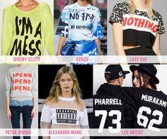Fashion: Felpe e t-shirt con slogan, la tendenza per la primavera   Miss PandamoniumMiss Pandamonium