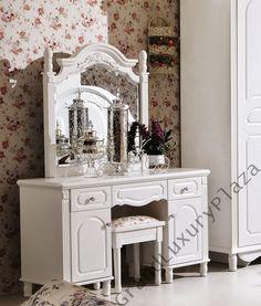 zdobiona toaletka lustro 901 seria bella szczeg y na. Black Bedroom Furniture Sets. Home Design Ideas