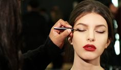 How to achieve the Byzantine Princess look - Pat McGrath's magic touch turns the models into contemporary Byzantine princesses for the Dolce&Gabbana Fall Winter 2014 fashion show. Watch the interview to find out what lies behind her magic tricks.