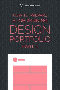 How to prepare a job winning graphic design portfolio or UX design portfolio, part 1 — Chris Hannon Creative - A design portfolio is a very fragmented representation of what a designer is capable of because des - Design Websites, Web Design Jobs, Web Design Quotes, Graphisches Design, Graphic Design Tips, Web Design Tutorials, Creative Design, Graphic Design Portfolios, How To Design
