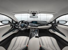 BMW i8 Plug-in Electric Sports Car (8) • TheCoolist - The Modern Design Lifestyle Magazine