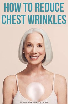 Antiaging Skincare: How to get rid of cleavage and chest wrinkles. These signs of aging can be avoided and even improved if you have the right weapons in your arsenal. Allow us to shed some light! Hair Growth Home Remedies, Home Remedies For Acne, Natural Home Remedies, Beauty Hacks, Beauty Tips, Beauty Care, Diy Beauty, Beauty Routines, Skincare Routine