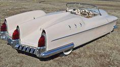 1953 Manta Ray concept Amelia Island rear 3-4 fins