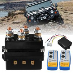 Winch Solenoid, Natural Disasters, Atv, Recovery, Remote, Twins, Trucks, Vehicles, Electronics