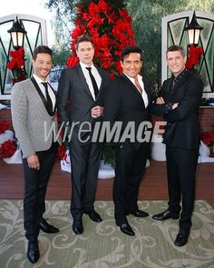 Picture of Vocal Group Il Divo visits Hallmarks Home Family at Universal Studios Hollywood on December 13 2018 in Universal City California. Universal City California, Home And Family Tv, El Divo, Hallmark Homes, David Miller, Baby Cardigan Knitting Pattern, Universal Studios, Celebrity Pictures, Tv Shows