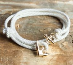 Nautical Anchor Bracelet #menswear #style #bracelet #accessories