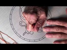 (179) LESSON #5  - Punch Needle - CTR 3 strand - Full Lesson - Pumpkin - YouTube