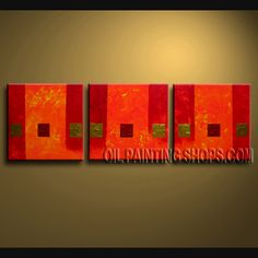 Beautiful Contemporary wall art oil paintings of Abstract. Direct from Bo Yi Art Studio. It is with great pleasure to offer you this stunning 3 panel(s) wall art! This painting is created and hand painted by us, it is well stretched with inner frame, read Panel Wall Art, Wall Art Sets, Large Wall Art, Canvas Wall Art, Abstract Painting Techniques, Oil Painting Abstract, Contemporary Wall Decor, Modern Wall Art, Painting Textured Walls