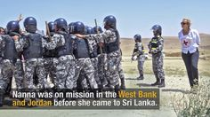 Training police in Sri Lanka: a woman in a man's world
