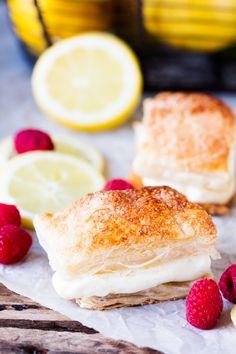 Zesty Lemon Cream Cheese Puffs - fancy-edibles.com