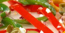 Салат из сладкого перца с каперсами