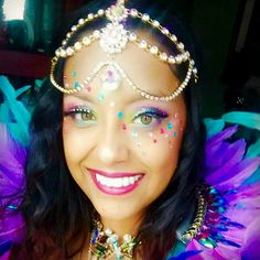 Carnival Makeup Kits, founded in 2015, creates, assembles and builds custom makeup kits for Carnival participants, festival-goers as well as the everyday glamour makeup fan.The items are professionally selected and tested to withstand everything the day has to offer and more. Follow us on Instagram: @carnivalmakeupkits  #carnivalmakeupkit #carnivalmakeup #makeup #glitter #gems #jewels #rhinestones #holographic #caribana #caribanamakeup #carnivalmasquerader #masquerader #gorgeous