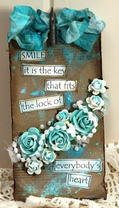 This quote is very meaningful to me. I truly believe that if you have only one smile to give, you should give it to your loved ones. Even if you are not happy at that point yourself, giving a smile can help make someone else's day. This can bring you happiness by seeing that you truly impacted someone else in a positive way. A smile is the key to beginning fruitful friendships and relationships.