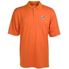 Antigua Men's NFL Phoenix Polo Shirt (Orange, Size Large) - Pro Licensed Product, Nfl Polos/Jerseys at Academy Sports