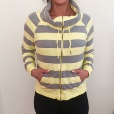 Calvin Clein  Cute Cowl neck zip up Cotton looking great Calvin Klein Sweaters Cowl & Turtlenecks