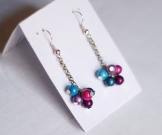 Handmade earrings by CatsAndKnots on alittlemarket