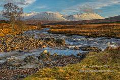 Winter View (Scottish Highlands) by Karl Williams
