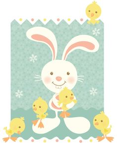 'Tis the season of bunnies and chicks. Happy Easter!