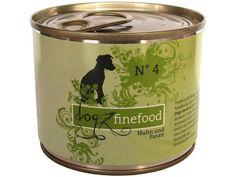Dogz finefood No. 4 Hundefutter mit Huhn  Fasan