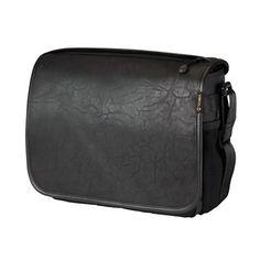 Switch 10 Camera Bag — Black/Black Faux Leather