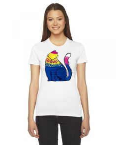 Majestic Cat Ladies Fitted T-Shirt