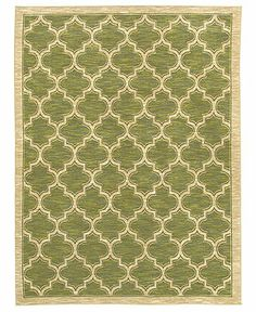 """Shaw Living Area Rug, American Abstracts 01300 Milazzo Green 7'9"""" x 10'3"""" - 8 x 10 Rugs - Rugs - Macy's"""