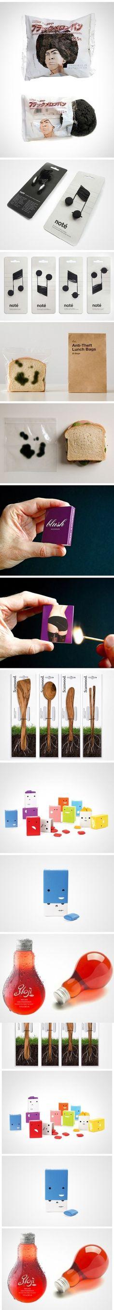 一组创意包装设计