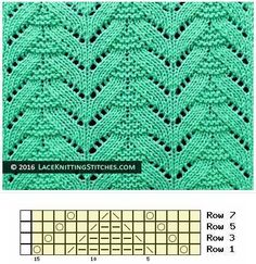 (Chart No Multiple of 15 sts, + Lace Pattern. (Chart No Multiple of 15 sts, + Knitt… Knitted Lace Pattern. (Chart No Multiple of 15 sts, + Knitted Lace Pattern. (Chart No Multiple of 15 sts, + - Lace Knitting Stitches, Knitting Machine Patterns, Lace Knitting Patterns, Knitting Charts, Lace Patterns, Crochet Blanket Patterns, Loom Knitting, Hand Knitting, Knitting Tutorials