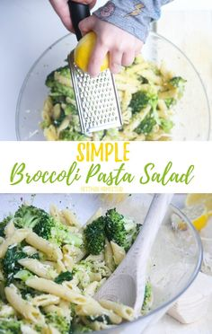 This budget-friendly broccoli pasta salad is going to be a family favorite this spring and summer. Refreshing and SO easy to make.