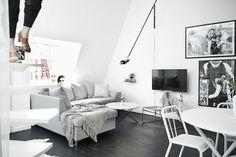 Sort/hvid oase i Sverige   Boligmagasinet.dk