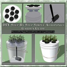 DIY Step By Step Simple Aeroponics Garden Guide | Happy House and Garden Social Site