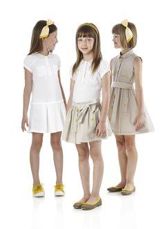 Fendi Junior Spring/Summer 2014 collection Look 8