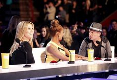 America's Got Talent judges Howie Mandel, Mel B and Heidi Klum at Season 8 audition tapings in New Orleans. Magic Tricks Revealed, Howie Mandel, Penn And Teller, Sleight Of Hand, Fox News Channel, The Great Escape, Card Tricks, Season 8, Judges