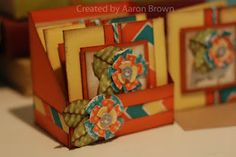 3x3 cards & note box