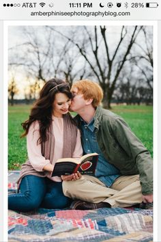 Pecan orchard engagement picture picnic