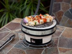 Outdoor Propane Heaters - Tabletop Yakatori Grills by Well-Traveled Living meetmygrillfriend.com