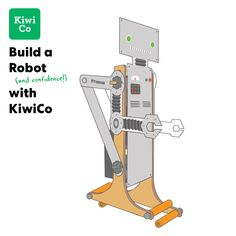 What's more amazing — a robot that walks, or the kid that builds it? videos KiwiCo: Walking Robot by Tinker Crate