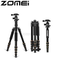 64.75$  Buy here - http://aliwcf.shopchina.info/go.php?t=32796709986 - New Zomei Q666 Aluminum Professional Tripod Monopod + Ball Head For DSLR camera Portable / SLR Camera stand / Better than Z666  #magazineonlinebeautiful